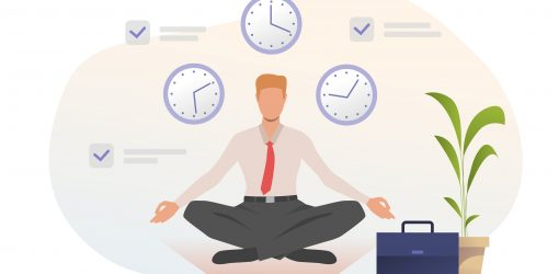 Staying calm in times of panic work from home