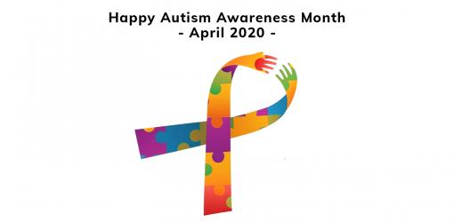 April 2020 Autism Awareness Month Ribbon