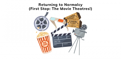 Returning to the movie theatres after streaming every thing for a year!