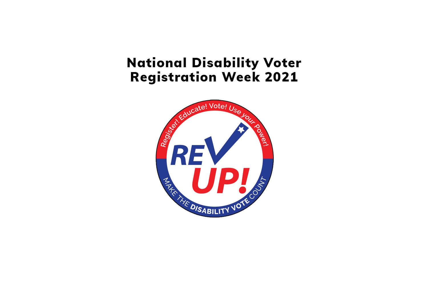 Disability Voting Rights Week 2021!